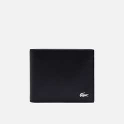 Кошелек Lacoste Fitzgerald Leather 6 Card Black