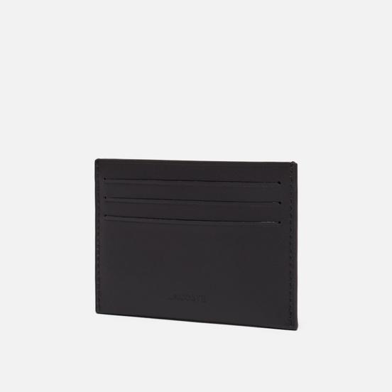 Держатель для карточек Lacoste Fitzgerald Credit Card Holder Dark Brown