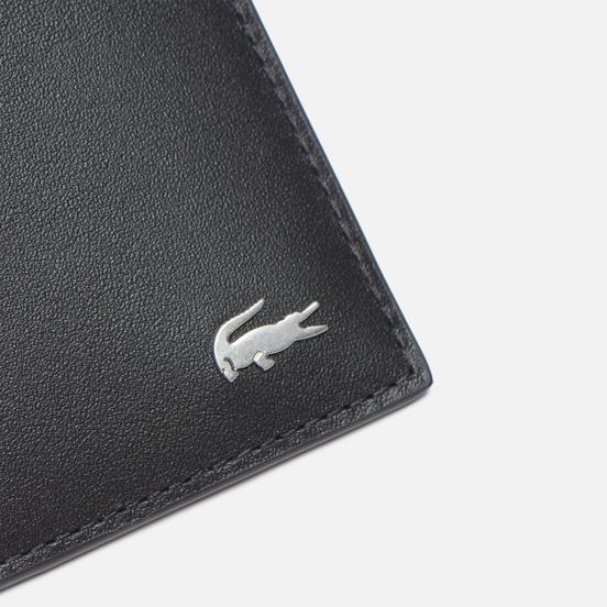 Кошелек Lacoste Fitzgerald Leather Zip Black