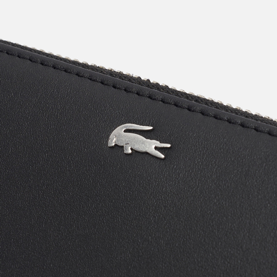Кошелек Lacoste Fitzgerald Smooth Leather Large Black