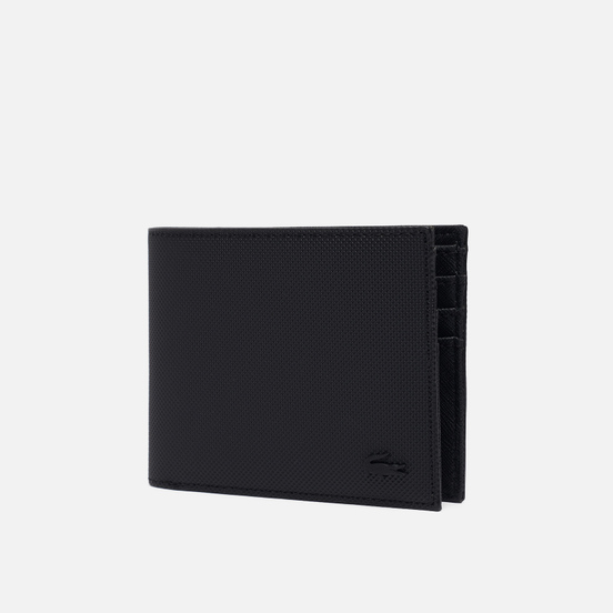 Кошелек Lacoste Classic Petit Pique Six Card Black