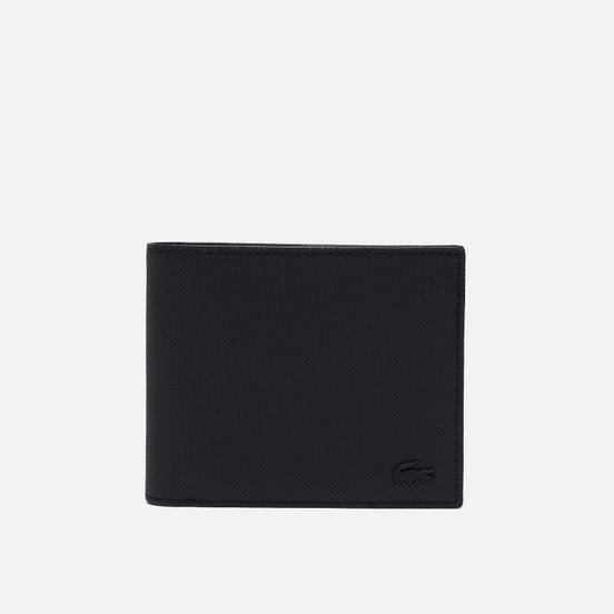 Кошелек Lacoste Classic Petit Pique Three Card Black