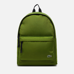 Рюкзак Lacoste Neocroc Canvas Zip Pocket Green/Black