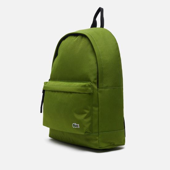 Рюкзак Lacoste Neocroc Canvas Zip Pocket Green/Black