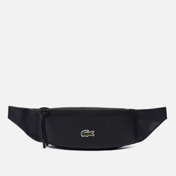 Сумка на пояс Lacoste Coated Canvas Black