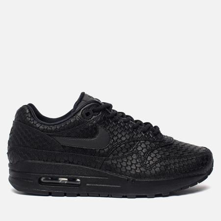 Женские кроссовки Nike Air Max 1 Premium Black/Black/Anthracite