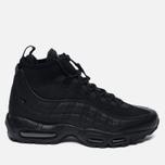 Мужские зимние кроссовки Nike Air Max 95 Mid Black/Black фото- 0