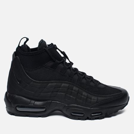 Мужские зимние кроссовки Nike Air Max 95 Mid Black/Black