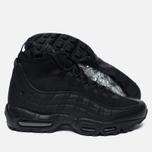 Мужские зимние кроссовки Nike Air Max 95 Mid Black/Black фото- 2