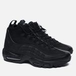 Мужские зимние кроссовки Nike Air Max 95 Mid Black/Black фото- 1
