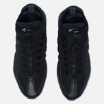 Мужские зимние кроссовки Nike Air Max 95 Mid Black/Black фото- 4