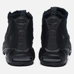 Мужские зимние кроссовки Nike Air Max 95 Mid Black/Black фото- 3