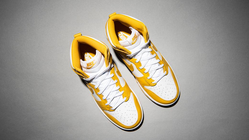 Nike Dunk High Dark Sulfur WMNS: минеральные оттенки
