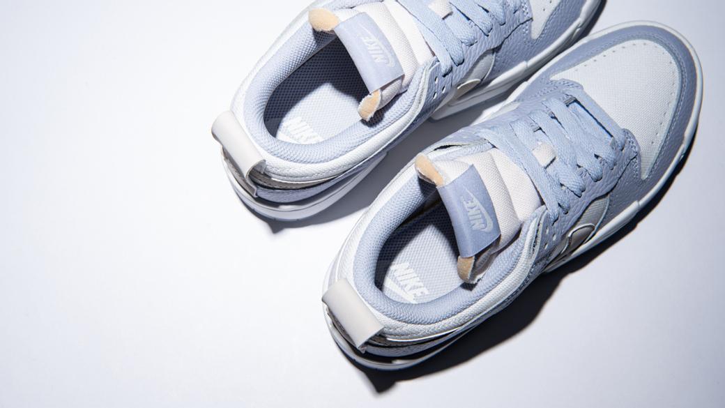 Nike Dunk Low Disrupt Summit White Ghost WMNS: внимание на детали