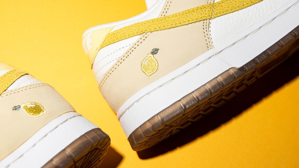Nike Dunk Low Lemon Drop WMNS: издание с кислинкой
