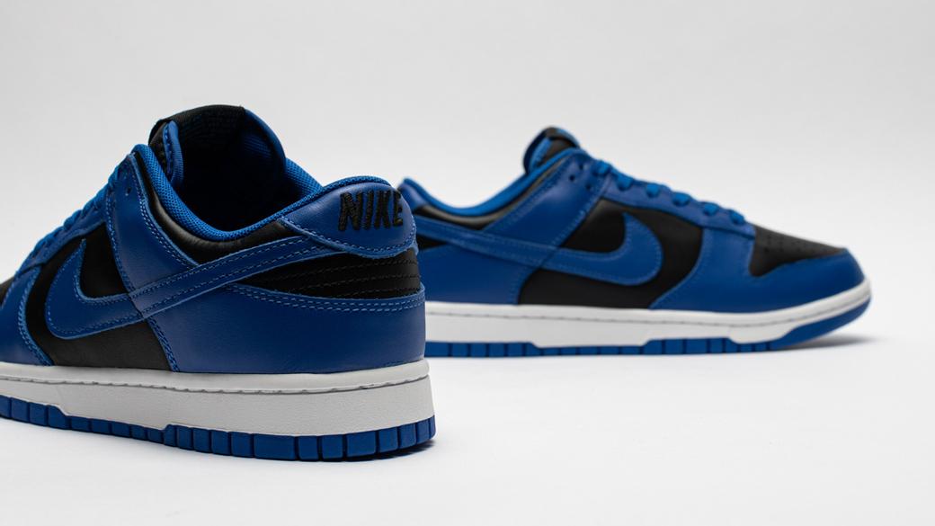Nike Dunk Low Retro Hyper Cobalt: колледжный стиль