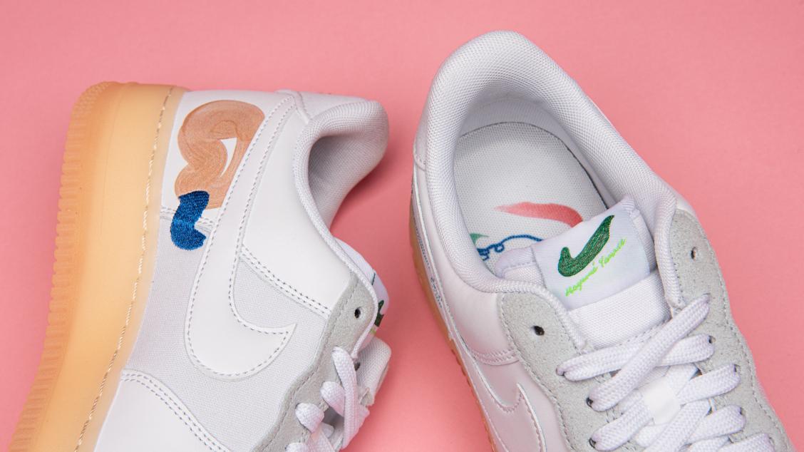 Nike x Mayume Yamase Air Force 1 Flyleather