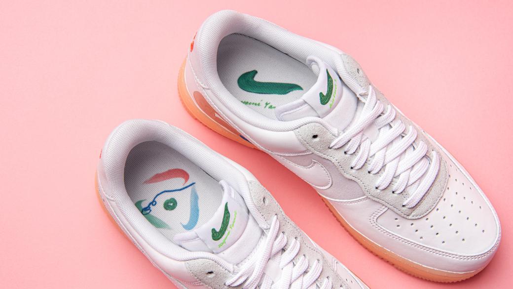 Nike x Mayume Yamase Air Force 1 Flyleather: уютный Токио