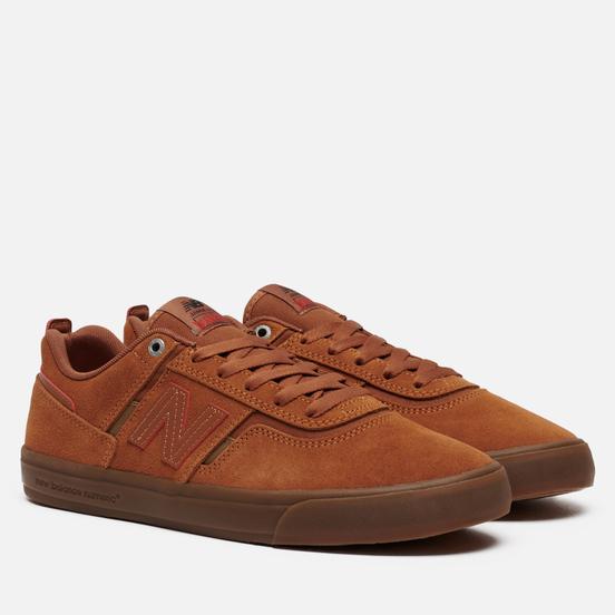 Мужские кроссовки New Balance x Deathwish Numeric 306 Jamie Foy Cinnamon/Brown