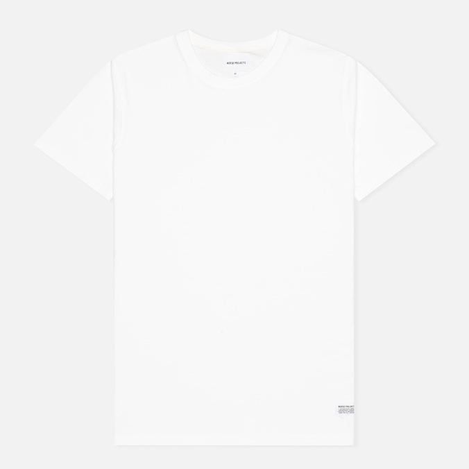 Мужская футболка Norse Projects Niels Basic White
