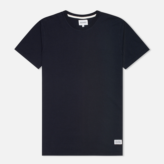 Мужская футболка Norse Projects Niels Basic Navy