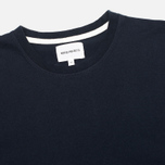 Norse Projects Niels Basic Mens T-Shirt Navy photo- 1