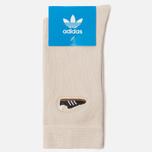 Носки adidas Originals Samba Embroidered Clear Brown фото- 1