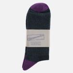 Носки Anonymous Ism Colour Mix Edge Black/Purple фото- 0
