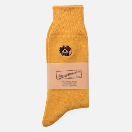 Носки Anonymous Ism Embro Crew Yellow