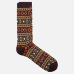 Носки Anonymous Ism Jacquard Crew Brown фото- 1