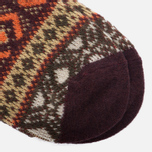 Носки Anonymous Ism Jacquard Crew Brown фото- 2
