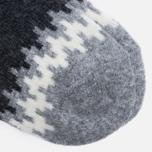 Носки Anonymous Ism Wool Print Charcoal фото- 2