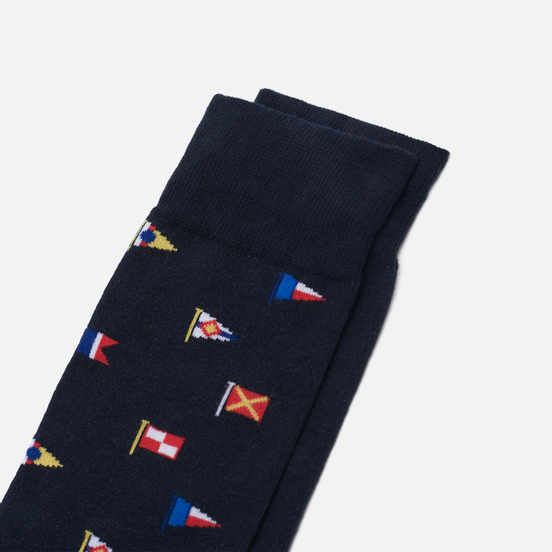 Носки Barbour Mavin Navy Flag
