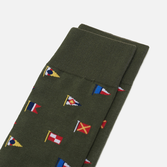 Носки Barbour Mavin Olive Flag