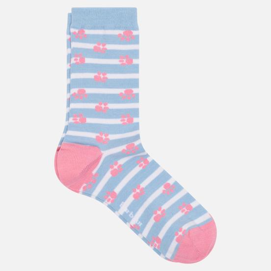 Носки Barbour Paw Stripe Blue/Pink