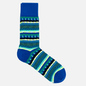 Носки Burlington Construction Stripes Lapis Blue фото - 0