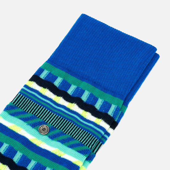 Носки Burlington Construction Stripes Lapis Blue