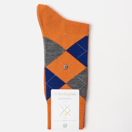 Носки Burlington Edinburgh Orange