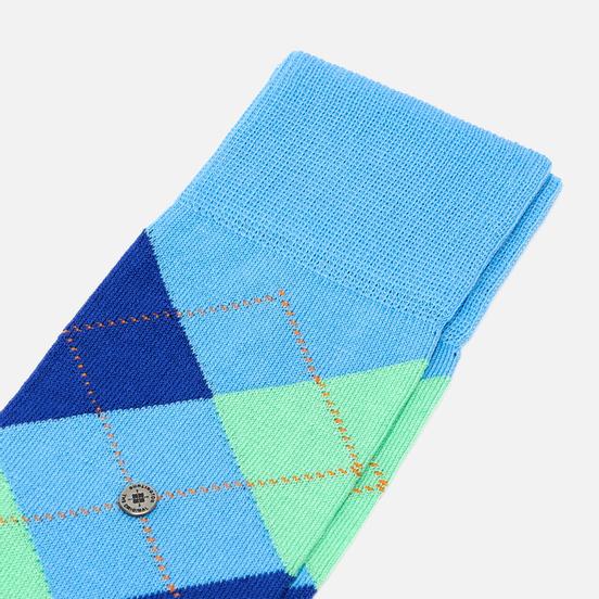 Носки Burlington Manchester Blue/Turquoise