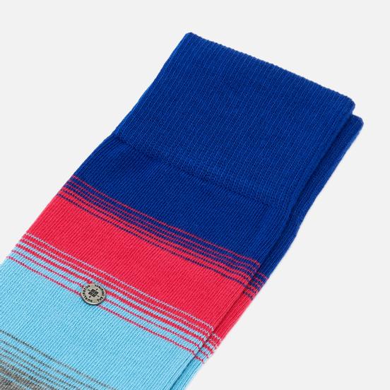 Носки Burlington Ombre Stripe Deep Blue