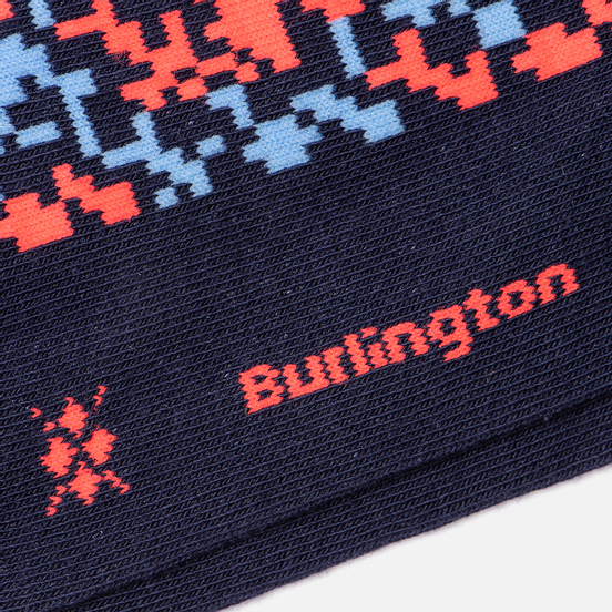Носки Burlington Screen Error Navy