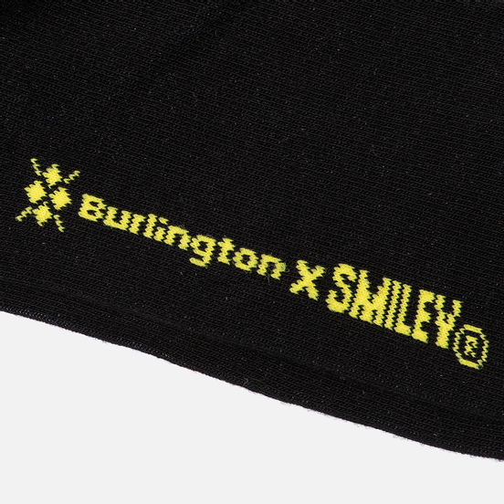 Носки Burlington Smiley Argyle Black