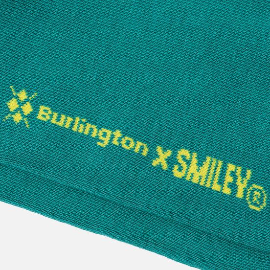 Носки Burlington Smiley Argyle Green