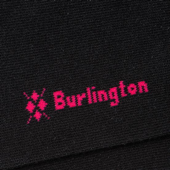 Носки Burlington Smiley Sucker Black
