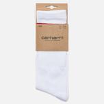 Carhartt WIP College Socks White/Fire photo- 0