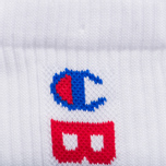 Мужские носки Champion Reverse Weave x Beams 3-Pack White фото- 2