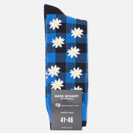 Носки Democratique Socks Buffalo Daisy Henri Blue