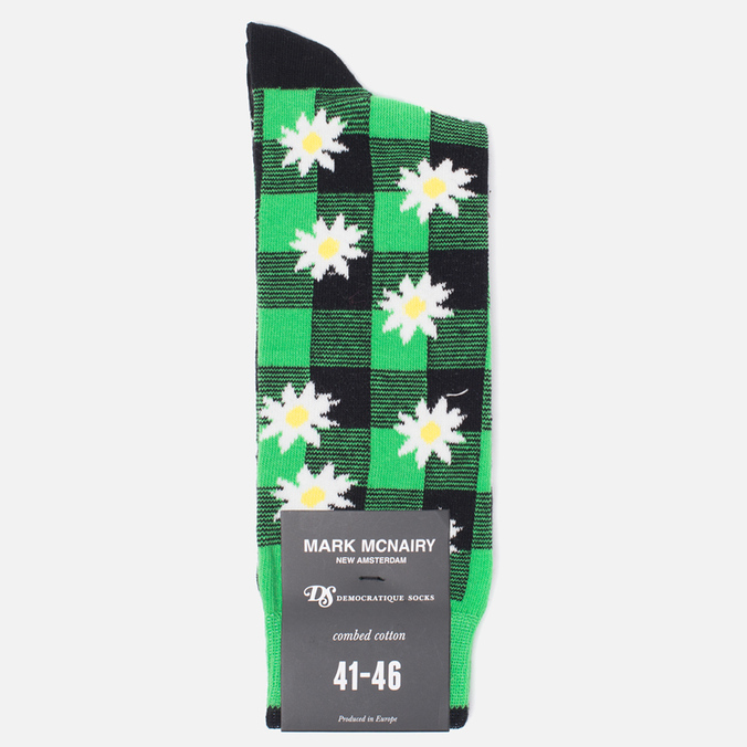 Носки Democratique Socks Buffalo Daisy Sea Green