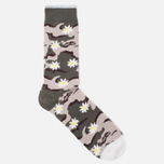 Носки Democratique Socks Camo Daisy Army/Yellow фото- 1