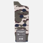 Носки Democratique Socks Camo Dots Army/Navy фото- 0